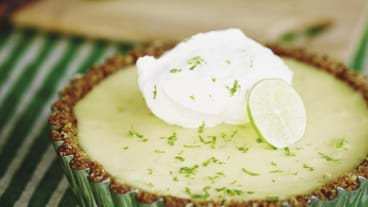 Key Lime Pie — Tarte à la lime